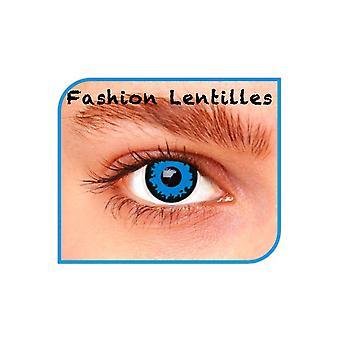 Spezialeffekt Kontaktlinsen Blue Wolf Linsen 1 Tag