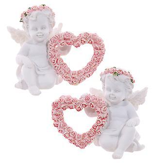 Rose Cherubs - Rose Heart X 1 Pack