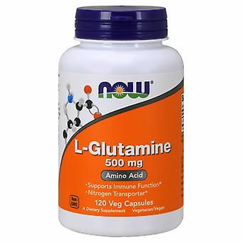 Now Foods L-Glutamine, 500 mg, 120 Caps