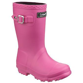 Cotswold kids buckingham wellington boot pink 20963