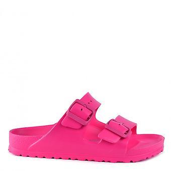 Birkenstock Arizona Eva Two Strap Sandals Beetroot