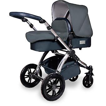 Ickle Bubba Stomp v4 SE All In One Travel System Mercury i-Size & Isofix Base