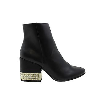 Madden Girl Womens Ambrose Jeweled Closed Toe Ankle Fashion Boots