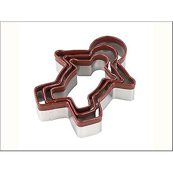 Tala Gingerbread Cutters  x 3 10A00989