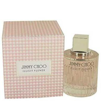Jimmy Choo Illicit Flower By Jimmy Choo Eau De Toilette Spray 3.3 Oz (women) V728-534531