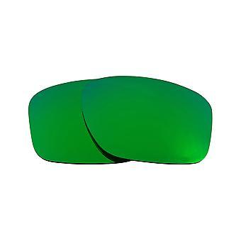 عدسات استبدال ل Oakley Sliver XL النظارات الشمسية المضادة للخدش مرآة خضراء