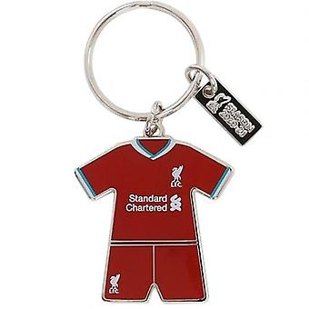 Liverpool Home Kit Keyring