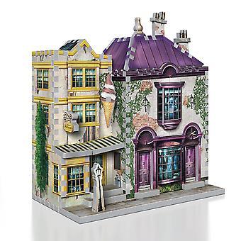 3D harry potter - madam malkin's and florean fortescue's ice cream 290pc 3d puzzle