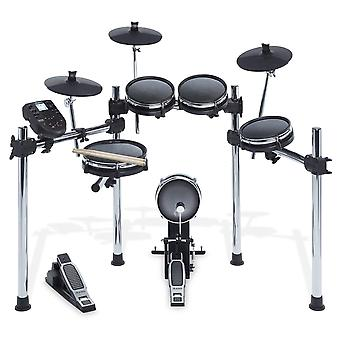 Alesis drums surge mesh kit - eight-piece mesh electric drum set with 385 electronic / acoustic drum
