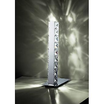 Tafellamp Galaxy 3w Led 6000k Gepolijst chroom / kristal
