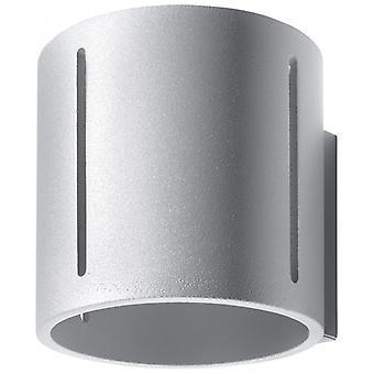 Inez Grå Aluminium Væg Lys 1 Pære