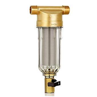 4 Split-úst přední čistič měděný olovo Pre-filtr - Zpětné promývání Odstranění Rust