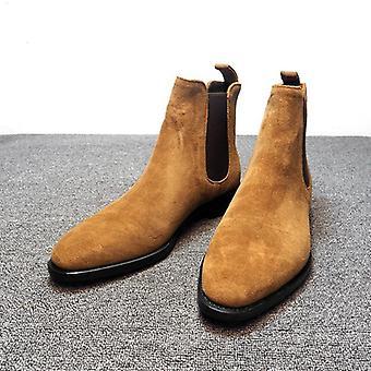Pánské Boty Chelsea, Vysoké kotníkové pánské vycházkové boty