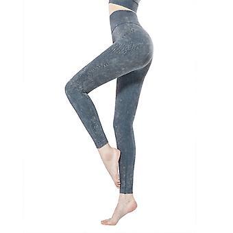 Women's hollow breathable yoga pants Q09