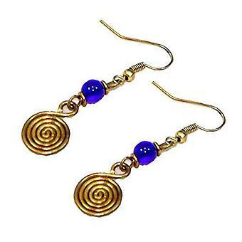 Spiral Women Earrings Coil Musical Earrings