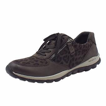 غابور رولينجسوفت أحذية رياضية حديثة رائعة في Anthracite