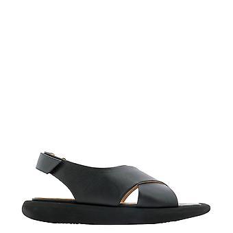 Paloma Barceló Jataupunapasoftblack Women's Black Leather Sandals