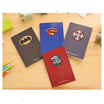 Creative Superman, Batman Notepads - Carnets pour enfants