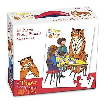 Paul Lamond Tiger som kom til te gulvet Puzzle (24 biter)
