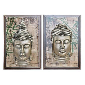 Pintura Dekodonia Wood Fibre Oriental Buda (2 pcs)
