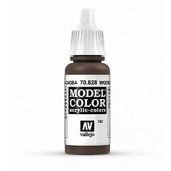 Vallejo Model Color 17ml Acrylic Paint - 828 Woodgrain