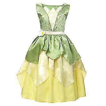 Sommar prinsessklänning, Elsa Anna Klänning Baby Kläder