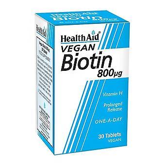 Health Aid Biotin 800 Mcg 30 Tablets