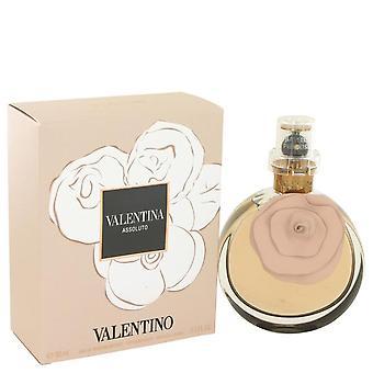 Valentina assoluto eau de parfum spray intens af valentino 502904 80 ml
