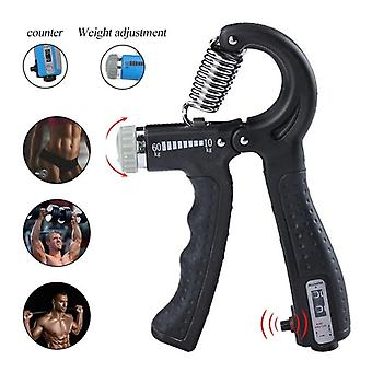 R-shape Adjustable Hand Grip, Sports Strength, Countable Exercise Strengthener