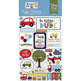Echo Park Little Dreamer Boy Puffy Stickers