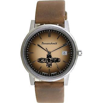 Aristo Unisex Messerschmitt Watch Boxer Watch ME-BOXER13 Leather