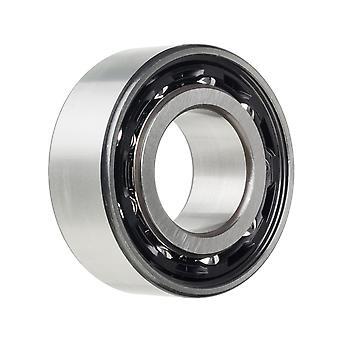 NSK 3302BTN dobbel rad vinkel kontakt kulelager 15x42x19mm