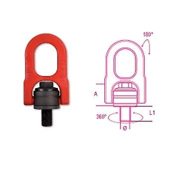 Beta 080490024 M24 Lifting Eyebolts Swivel Ring High-tensile Alloy Steel