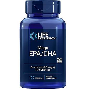 ライフエクステンションメガEPA/DHAソフトゲル 120