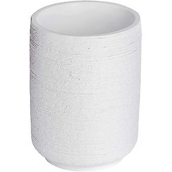bathroom cup Goa 7 x 10 cm ceramic white