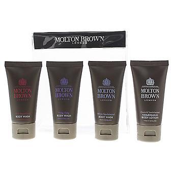 Molton Brown Body Lotion 30ml & 3 x Body Wash 30ml Giftset