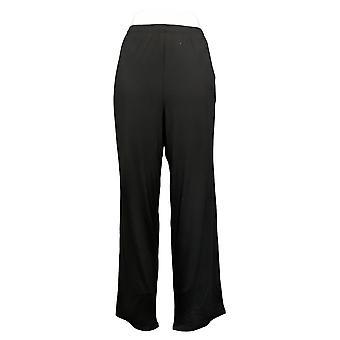 Kos Duds Kvinner's Pyjamas Bukser Jersey Jogger Svart A389421