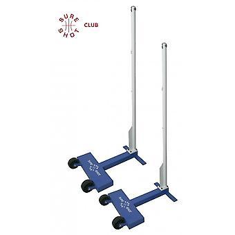 Sure Shot Club Wheelaway 45kg Badminton Posts