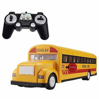 אוטובוס בית ספר לרכב RC אוטובוסים שלט רחוק 2.4G