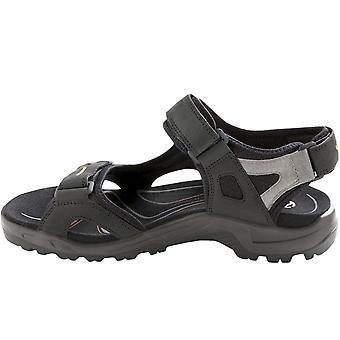 Ecco Mens Offroad Yucatan Walking Hiking Trail Sandals Schoenen - Zwart