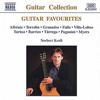 Guitar Favorites - Guitar Favorites: Norbert Kraft [CD] USA import