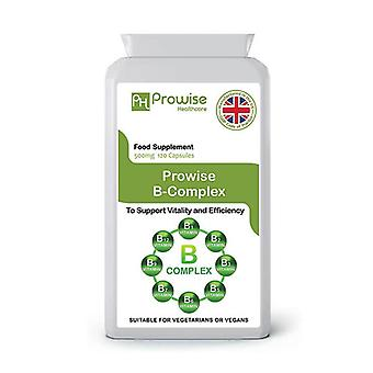 Vitamin B Complex | Suitable For Vegetarians & Vegans | Made In UK by Prowise