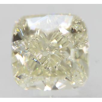 Sertifioitu 0,71 karat G Väri VVS2 Tyyny Natural Loose Diamond 4.62x4.56mm