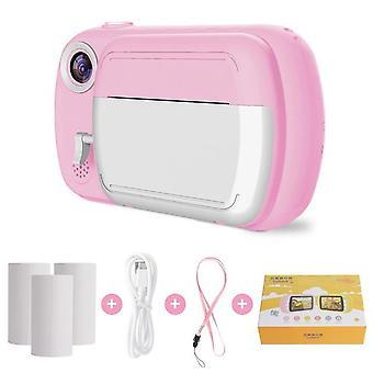Digital Camera 3.5-inch 1080p Hd Printable Kids Thermal Digital's Educational