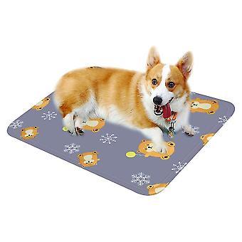 Stor grå sommer kattematte matte er bite resistantdog kennel ismatte x486