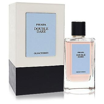 Pradan hajuastiat kaksinkertainen dare eau de parfum spray lahjapussilla (unisex) prada 557397 100 ml