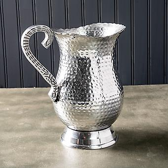 Hand Hammered Stainless Steel Pitcher