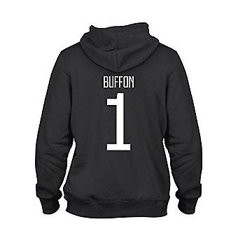 Gianluigi buffon 1 club player style hoodie black/white