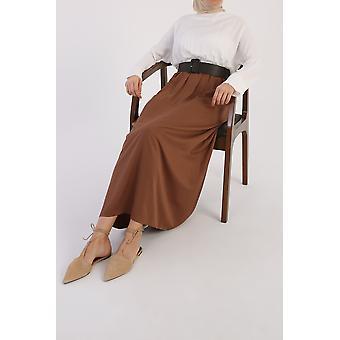 Comfy Belted Elastic Waist Dress