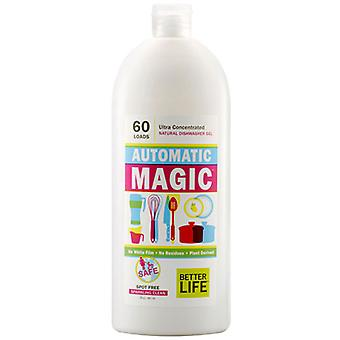 Better Life Natural Dishwasher Gel (ultra - concentrated) Automatic Magic, 30 oz